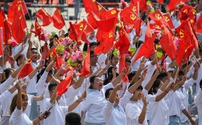 Am 1. Oktober feierte die Volksrepublik China sein siebzigjähriges Foto: Greg Baker, AFP