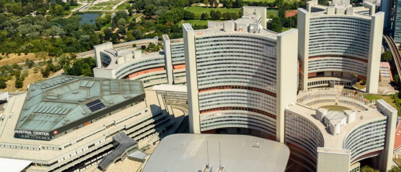 Die Vereinten Nationen verhandeln über Reformen der Investor-Staats-Schiedsgerichtsbarkeit an einem der fünf Hauptsitze in Wien. Foto: Radu Bercan | shutterstock