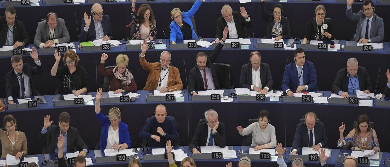 Das EU-Parlament hat mit großer Mehrheit für die Ausrufung des Klimanotstands gestimmt. Foto: Frederik Florin | AFP