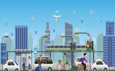 Auf der NaKoMo-Konferenz arbeiten Vertreter aus Politik, Wirtschaft und Wissenschaft zusammen an neuen Ideen für die Zukunft der urbanen Mobilität. Grafik: Solveig Been | shutterstock.com
