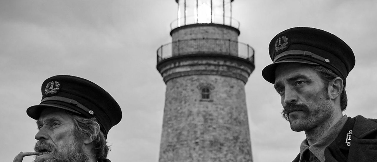Willem Dafoe und Robert Pattinson in The Lighthouse. Foto: The Lighthouse | Universal Pictures
