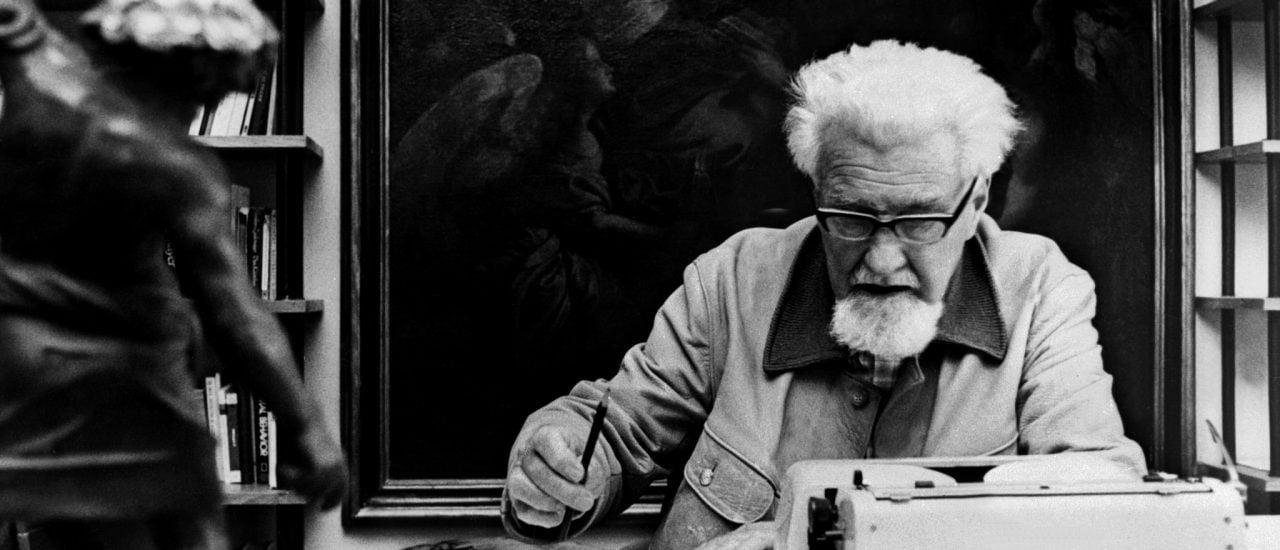 Konrad Lorenz bei der Arbeit. Der Träger des Medizin-Nobelpreises steht immer wieder für seine Nähe zur NS-Ideologie in der Kritik. Foto: STF | AFP