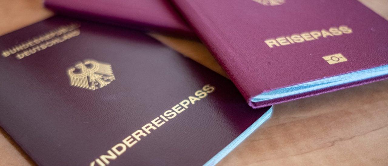 Der deutsche Reisepass ist in der Welt wohl angesehen. Foto: David M. Skiba / shutterstock.com