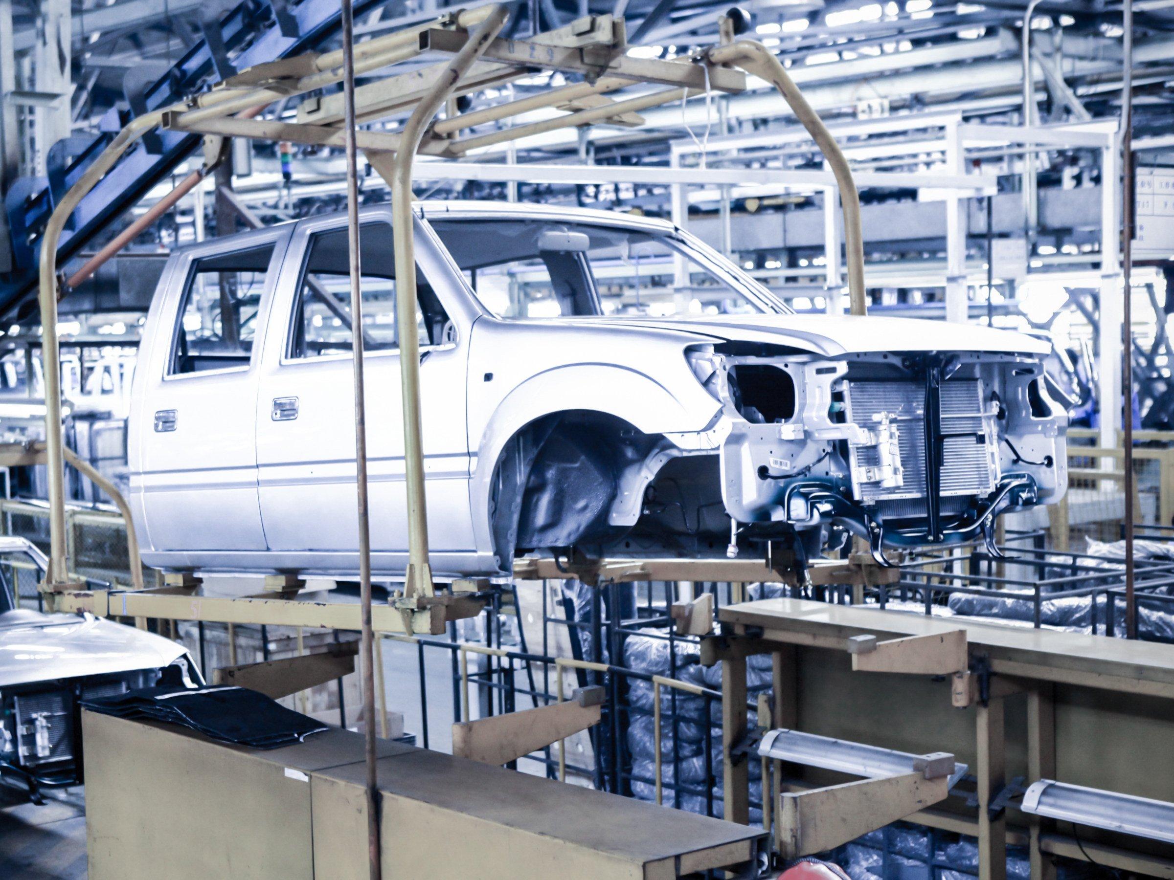 Arbeitsplätze Automobilindustrie