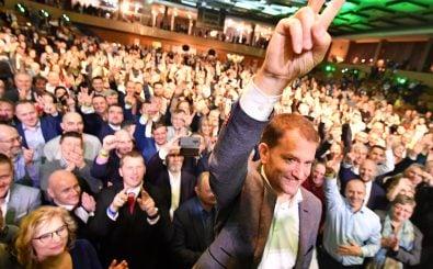 Igor Matovič von der OĽaNO auf einer Wahlkampfveranstaltung in der slowakischen Stadt Trnava. Foto: Joe Klamar / AFP
