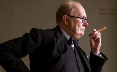Der Mann mit der Zigarre: Winston Churchill (Gary Oldman) steht vor einer schweren Aufgabe. Foto: ZDF / Jack English