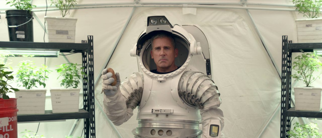 Steve Carell in Space Force Bild: Netflix