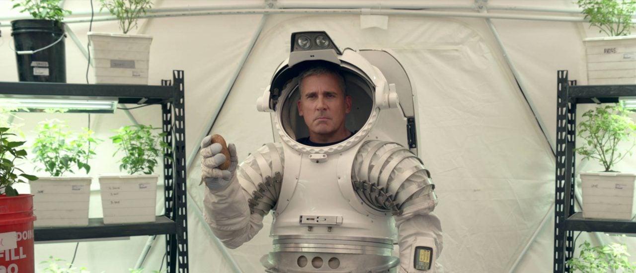 Steve Carell in Space Force Bild: Netflix