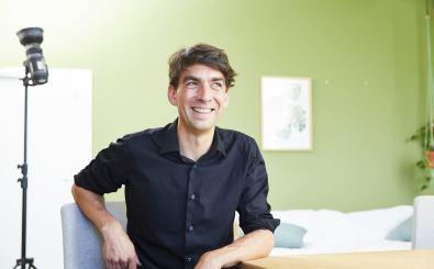 Matthias Henze, CEO von Jimdo