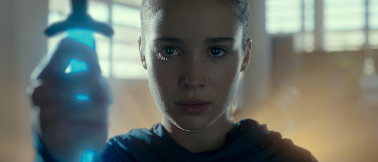 """Alba Baptista ist Ava in """"Warrior Nun"""". Bild: Courtesy of Netflix."""
