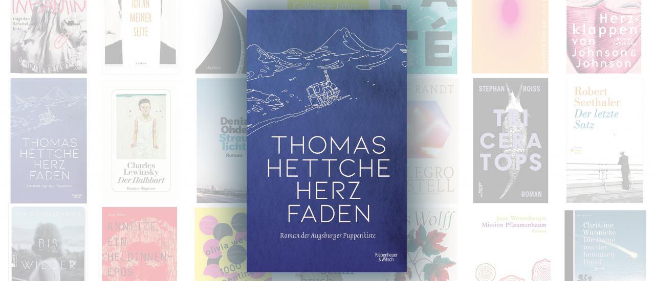 """Thomas Hettche ist mit seinem Roman """"Herzfaden"""" für den Deutschen Buchpreis nominiert."""