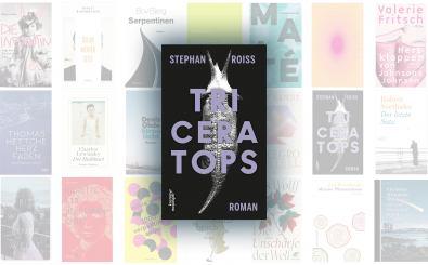 """Stephan Roiss ist mit """"Triceratops"""" für den Deutschen Buchpreis 2020 nominiert."""