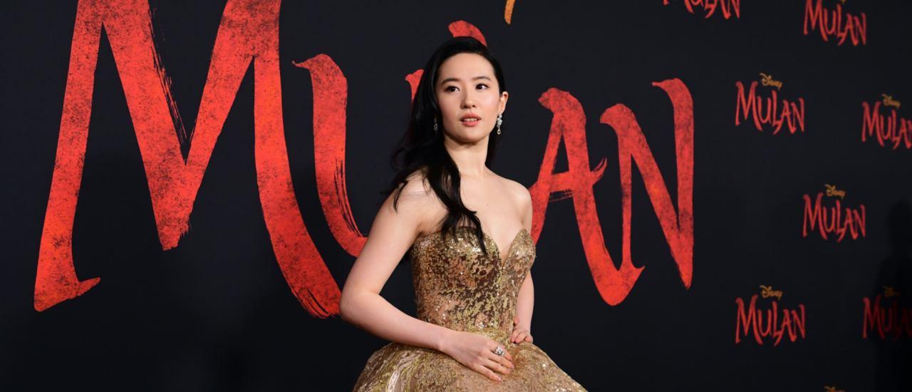 """Yifei Liu ist """"Mulan"""" in der Realverfilmung des Disney-Klassikers. Bild: FREDERIC J. BROWN / AFP"""