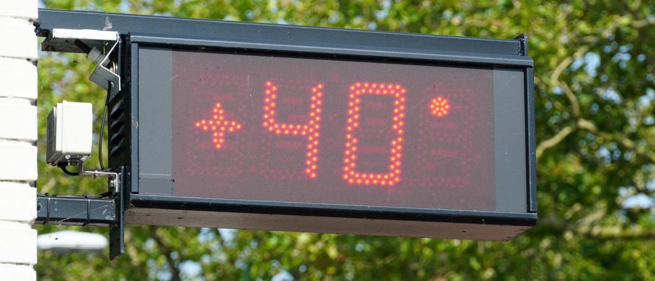 Temperaturen an die 40 Grad Foto: Dafinchi | Shutterstock