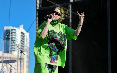 Billie Eilish performs at the Daytime Village during the 2019 iHeartRadio Music Festival on September 21, 2019 at the Las Vegas Festival Grounds in Las Vegas, Nevada. Foto: Shutterstock