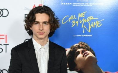 """Actor Timothee Chalamet arrives for the screening of """"Call Me By Your Name"""" during the AFI Fest 2017 Centerpiece Gala Presentation on November 10, 2017 at the TCL Chinese Theatre in Hollywood, California. (Photo by Robyn Beck / AFP)"""