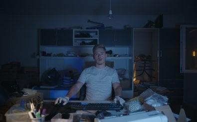 Online-Drogendealer Max in der Doku Shiny Flakes. Quelle: Netflix