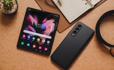 Samsung Galaxy Fold 3. Quelle: Framesira | Shutterstock.com